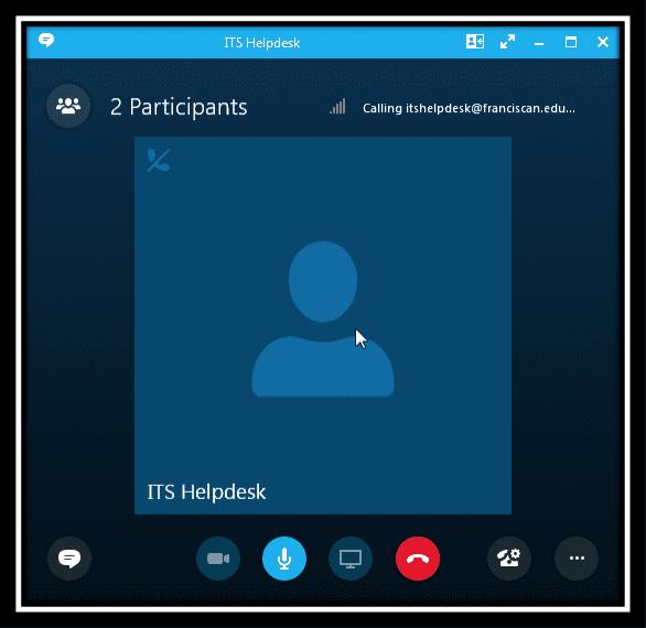 Image displaying a skype call